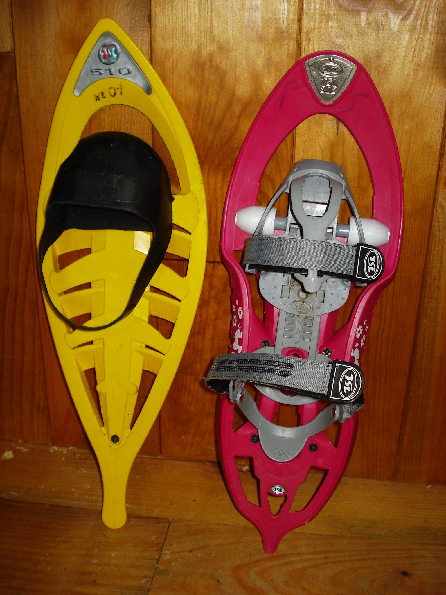 raquettes enfant TSL 510 et TSL 302